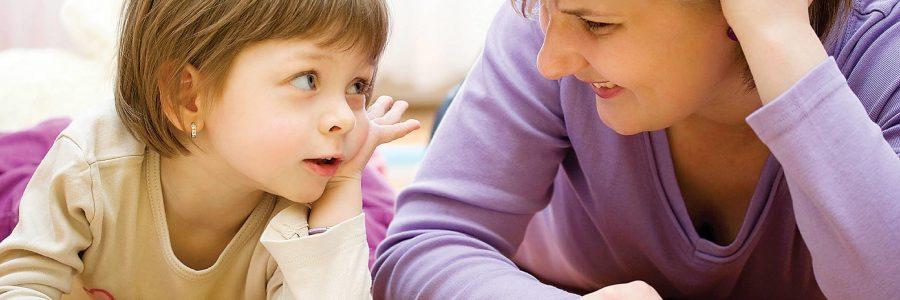 Mokome autistišką vaiką klausytis pašnekovo
